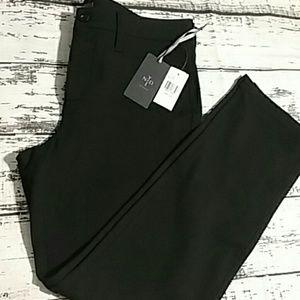 Nydj NWT black slimming fit casual dress pants 10p